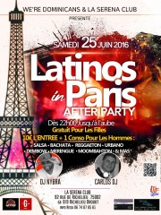 LATINOS IN PARIS AFTER PARTY