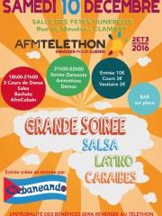 Salsathon : Soirée Salsa/Latino au bénéfice du Téléthon